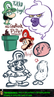 artist:raving_boy game:super_mario_3d_world karl_pilkington luigi mario pipe streamer:joel streamer:vinny // 1000x1802 // 270.6KB
