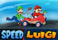 artist:101Kappas corruptions game:Mario_Kart_Double_Dash luigi mario speed_luigi streamer:vinny // 1304x904 // 1.1MB