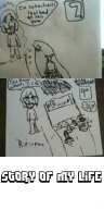artist:therealcruz comic game:mario_kart_8 paper_drawing streamer:vinny // 300x600 // 214.8KB