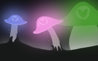 artist:dik_cox glowing vineshroom // 640x400 // 154.9KB