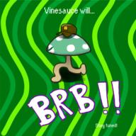 artist:nanopsychic brb game:mother_3 ramblin_mushroom streamer:vinny vineshroom // 720x720 // 252.4KB