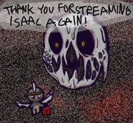artist:salmiakki game:binding_of_isaac streamer:vinny vinesauce // 604x558 // 561.4KB