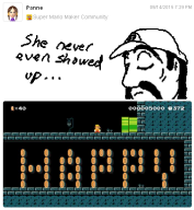 artist:goombella game:super_mario_maker game:tomodachi_life miiverse sponge vinesauce // 504x546 // 208.2KB
