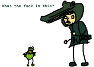 crocodile_cap game:metal_gear_solid_3 kermit snake streamer:vinny // 382x274 // 29.8KB