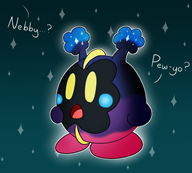 artist:meleekirby cosmog game:pokemon_moon kirby nebby streamer:vinny // 900x813 // 342.1KB