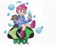 artist:rustybravo game:mother_3 kumatora streamer:vinny vineshroom // 975x783 // 996.6KB