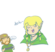 artist:solidsnake game:hyrule_warriors linkle streamer:vinny // 512x480 // 82.8KB