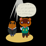 animal_crossing artist:themurphio streamer:vinny tom_nook // 2000x2000 // 764.8KB