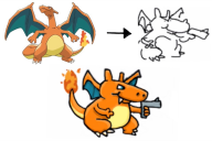 charizard draw game:pokedraw pokemon streamer:joel // 957x639 // 95.2KB