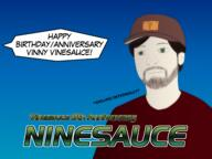 9th_anniversary Happy_Birthday_Vinny anniversary artist:MarsyM00n birthday streamer:vinny vinesauce // 1600x1200 // 498.8KB
