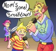 artist:Ultrabub boney duster game:mother_3 jobs_gone kumatora lucas michael_jackson streamer:vinny // 2400x2200 // 2.9MB