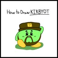 animation artist:duchomp brb game:kirby's_dream_course kirby streamer:vinny // 553x553 // 9.1KB
