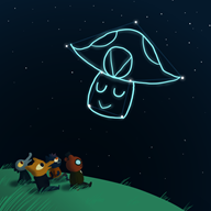 artist:daxerdoodle game:longest_night streamer:vinny vineshroom // 700x700 // 173.3KB