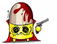 artist:rektal_romance_iii bullet_kin game:enter_the_gungeon streamer:vinny vinesauce // 403x314 // 18.0KB