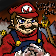 artist:raiqyuu crawl game:super_mario_bros_x level_contest mario streamer:vinny // 650x650 // 423.7KB
