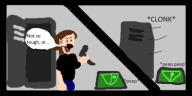 artist:dontsaymyusername7 game:alien:_isolation streamer:joel // 400x200 // 21.2KB