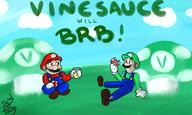artist:indy_himura brb game:Mario_and_Luigi_Superstar_Saga streamer:vinny // 2500x1500 // 1.7MB
