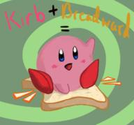 Breadward artist:gregward game:kirby_air_ride game:super_paper_mario kirby streamer:vinny // 1171x1089 // 387.8KB
