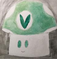 artist:UncleDonny streamer:vinny vineshroom watercolor // 2100x2155 // 1.3MB