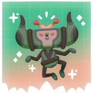artist:fuzzy game:we_love_katamari katamari_damacy streamer:joel // 2500x2500 // 557.2KB