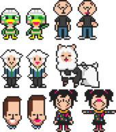 alpaca artist:idioticmuffin game:mother_3 game:tomodachi_life karl_pilkington pixel_art scoot streamer:vinny two_faced vinerizon vlinny // 680x768 // 8.1KB