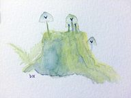 art dix i_love_dix_ paint physical_media streamer:vinny vinesauce vineshroom vineshrooms watercolor // 800x600 // 365.3KB