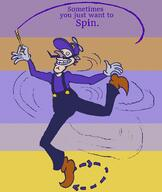 artist:JackieW corruptions game:mario_&_sonic_at_the_olympic_games streamer:vinny waluigi // 800x950 // 30.0KB