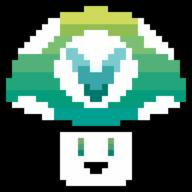 artist:push_hardly pixel_art streamer:vinny vineshroom // 900x900 // 5.4KB
