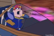 artist:SuperMase captain_falcon game:f-zero_gx peter_griffin streamer:vinny // 714x475 // 193.0KB