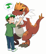 artist:samuraitastic game:pokemon_x pokemon streamer:vinny tyrantrum // 1078x1280 // 648.2KB