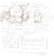 artist:morteriser chat game:kirby_triple_deluxe kirby streamer:vinny vinechat // 1284x1312 // 826.9KB