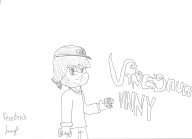 artist:jomaster pen sketch streamer:vinny vinesauce vineshroom // 2338x1700 // 304.9KB