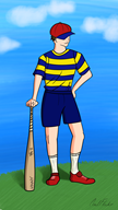 artist:pixelflickryt game:earthbound ness streamer:vinny // 1080x1920 // 1.1MB