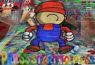 artist:jonny character:corrupted_mario corruptions game:super_mario_64 streamer:vinny // 1600x1100 // 4.9MB