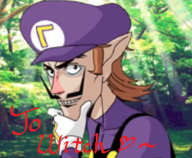 cap game:tomodachi_life waluigi_dating_sim witch // 514x425 // 437.9KB