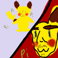 artist:queentipsy game:super_smash_bros pikachu streamer:vinny // 500x500 // 77.4KB