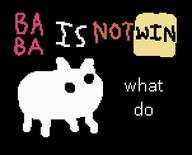 artist:Sandwish1964 baba game:baba_is_you streamer:vinny // 604x488 // 7.0KB