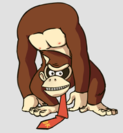 artist:lichpit corruptions donkey_kong game:super_smash_bros streamer:vinny // 834x898 // 112.6KB