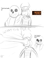 bad_time game:undertale sans streamer:joel // 640x843 // 83.8KB