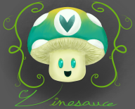 artist:razzred vinesauce_logo vineshroom // 1238x1000 // 721.4KB