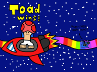 artist:coolblue mario_kart rainbow_road toad // 1024x768 // 146.6KB
