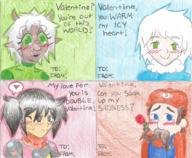 artist:bentochan cling_on game:tomodachi_life sponge streamer:vinny two_faced valentine vlinny // 936x768 // 1.7MB