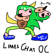 artist:arthurpennington chat oc streamer:limes // 640x640 // 101.4KB