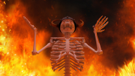 3d artist:sdraw fire skeleton streamer:joel // 960x540 // 699.1KB
