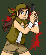 artist:macky-z game:metal_slug_3 hardcore_fridays streamer:joel // 500x600 // 140.6KB