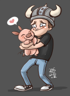 cute fruit_pig piglet streamer:joel // 688x950 // 245.2KB