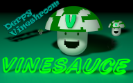 derp green streamer:vinny vinesauce vineshroom // 1920x1200 // 704.4KB