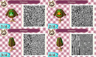 3ds animal_crossing christmas game:animal_crossing new_leaf qr_code streamer:vinny vinesauce // 801x479 // 556.1KB