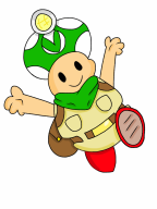 animated captain_toad mario streamer:vinny vineshroom vinetoad // 1039x1385 // 774.0KB