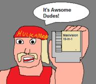 artist:Jamesx15 bootleg game:maxivision_15-in-1 hulk_hogan streamer:joel // 256x224 // 5.9KB